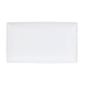 Блюдо прямоугольное L 27см w 16,8см TASTE WHITE, фарфор