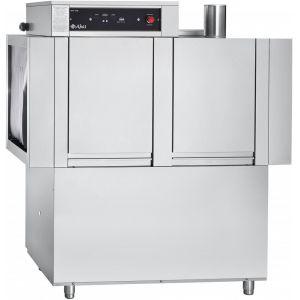 Машина посудомоечная конвейерная, 500х500мм,  95кор/ч, правая, гор.вода, доз.опол.+моющ., моющий насос
