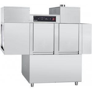 Машина посудомоечная конвейерная, 500х500мм, 111кор/ч, правая, доз.опол.+моющ., моющий насос, рекуператор, сушка