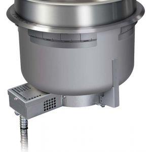 Мармит электрический, 10л, встраиваемый, для первых блюд, круглый, повыш. мощность