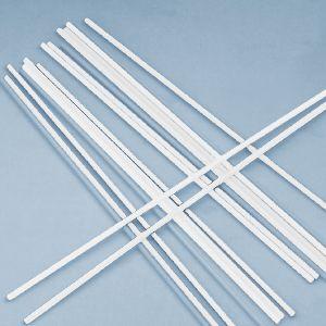 Палочки пластиковые для сахарной ваты, длина 370мм., диаметр 5мм, белые