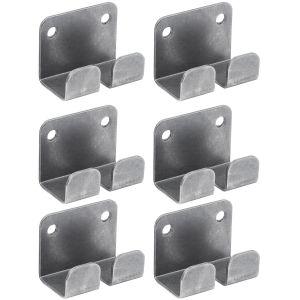 Кронштейн для крепления решётки WG на стену, нерж.сталь, комплект из 6шт.