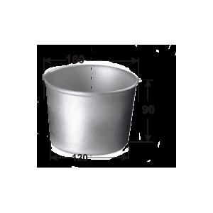 Форма для выпечки хлеба D 16см d 12см h 9см 1 секция, алюминий
