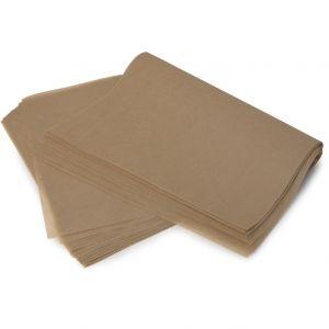 Бумага силиконизированная для пищевых продуктов 400x600мм