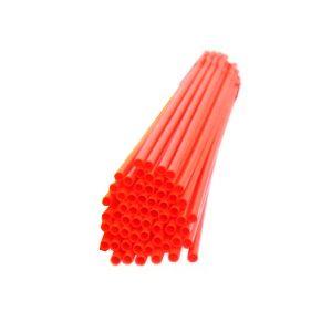Палочки пластиковые для сахарной ваты, длина 370мм., диаметр 5мм, красные