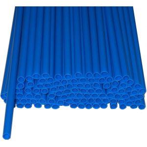 Палочки пластиковые для сахарной ваты, длина 370мм., диаметр 5мм, синие