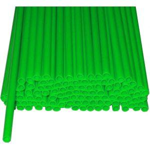 Палочки пластиковые для сахарной ваты, длина 370мм., диаметр 5мм, зеленые