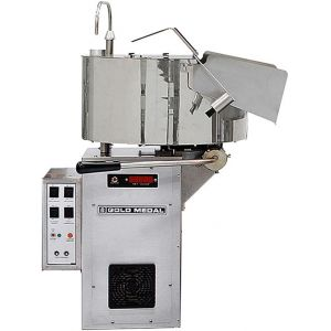 Попкорн аппарат, 48oz, Cornado, левая рукоятка, переключатель соль/сахар, подогреваемая система подачи масла, EAC