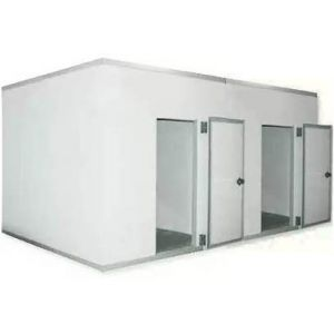 Камера комбинированная из строительных панелей,   6.20м3, h2.20м, 2 двери расп.правые, ППУ80мм