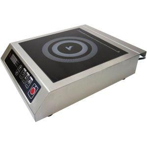 Плита индукционная, 1 конфорка 1х3.5кВт, настольная, электронное упр., 8 уровней мощности