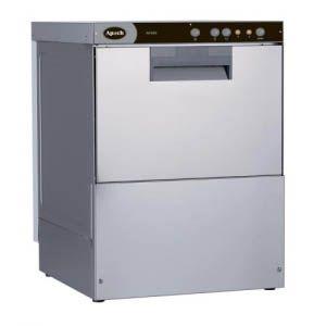 Машина посудомоечная фронтальная, 500х500мм, 40/30 корзин/ч, доз.опол., помпа моющ., 2 цикла, 380/220В, эл.-мех.упр.