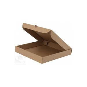 Коробка для пиццы 450х450х40мм картон крафт