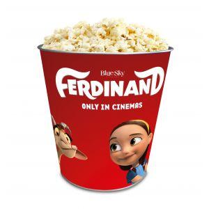 Жестяное ведро для попкорна «Фердинанд», 130 унций/3.80л.