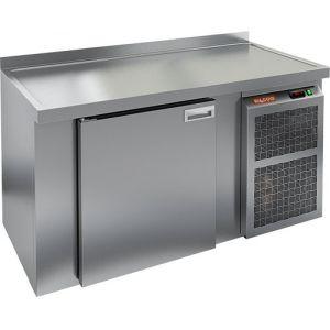 Cтол холодильный для кег и розлива пива, L1.51м, борт H50мм, 1 дверь глухая, ножки, 405л, -2/+10С, нерж.сталь, дин.охл., агрегат правый