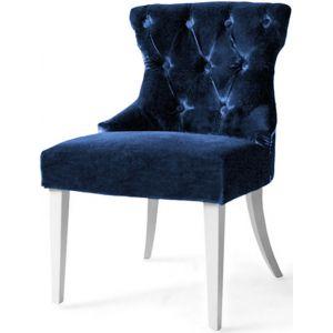 Кресло Бри, мягкое, обивка ткань II категории синяя