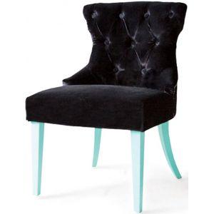 Кресло Бри, мягкое, обивка ткань II категории чёрная