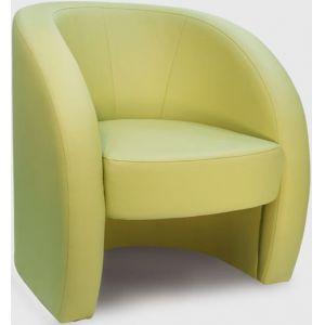 Кресло Глобус, мягкое, обивка экокожа II категории салатовая