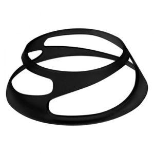 Подставка для блюд TWIST h 5см, пластик черный