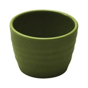 Чаша D 7см h 5см 75мл рифленая, пластик зеленый