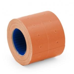 Этикет-лента 21,5х12мм оранжевая