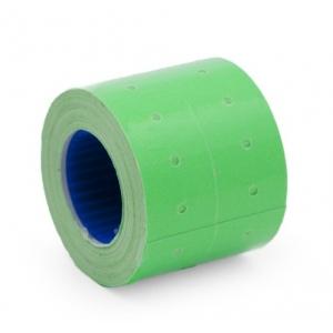 Этикет-лента 21,5х12мм зеленая