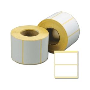 Этикетки прямоугольная 43х25мм термо ЭКО белая