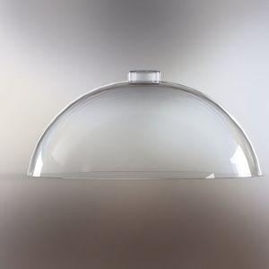 Крышка для вставки 129879, D 40см h 22см, пластик прозрачный