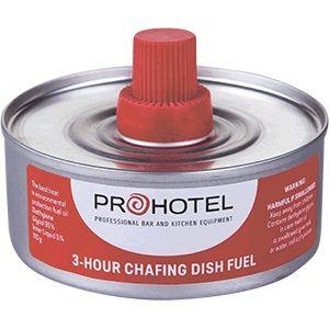 Топливо д/мармитов и фондю гель 150гр;сталь;D=8,3см;металлич.