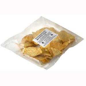Чипсы кукурузные «Начос» с солью, пакет, 100г.