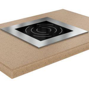 Плита индукционная, 1 конфорка 1х3.5кВт, встраиваемая (Уценённое)