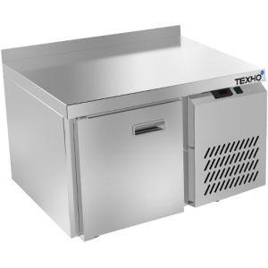 Стол холодильный низкий, GN1/1, L0.90м, борт, 1 дверь глухая, ножки, -2/+10С, нерж.сталь, дин.охл., агрегат справа