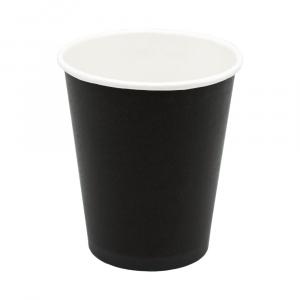 Стакан бумажный для горячих напитков BLACK 250мл