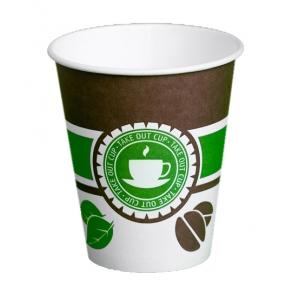 Стакан бумажный для горячих напитков Чай Кофе 300мл