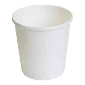 Контейнер с круглым дном 500мл D 98мм белый бумага