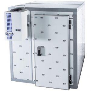 Камера морозильная Шип-Паз,   4.96м3, h2.50м, 1 дверь расп.правая, ППУ100мм