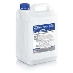 Средство дезинфицирующее для пищевого оборудования с ЧАС, концентрат Promnova ALKALIN F DEZD 5л.