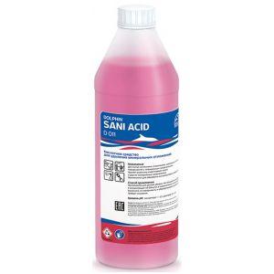Средство чистящее для уборки санузлов и помещений с повышенной влажностью, кислотное, концентрат SANI ACID 1л.
