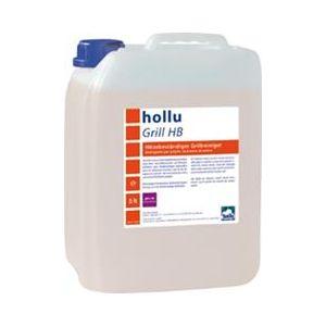Средство моющее щелочное гелеобразное для грилей, печей, духовок от нагара Hollu Grill HB 5л.