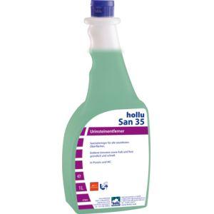 Средство чистящее для туалетных комнат, кислотное, концентрированное Hollu San № 35 1л.
