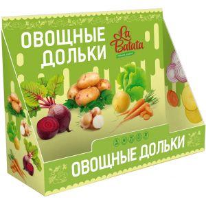Диспенсер (подставка под пакеты и стаканы с чипсами) «Овощные дольки La Batata»