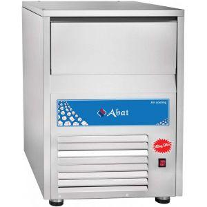 Льдогенератор для кускового льда,  46кг/сут, бункер 15.0кг, возд.охлаждение, корпус нерж.сталь, форма «кубик»
