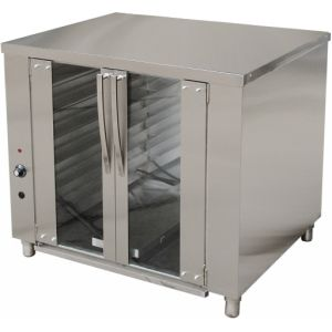 Шкаф расстойный тепловой,  6х(400х600мм), 2 двери стекло, нерж.сталь