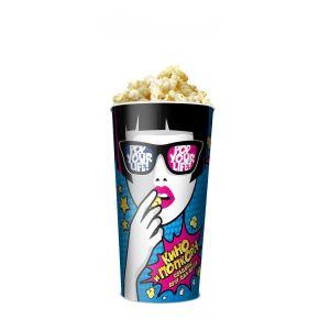 V 24 «Поп-Арт», стакан бумажный для попкорна