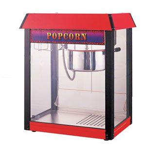 Попкорн аппарат, 06oz, верх красный (б/у (бывший в употреблении))