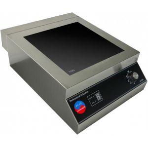 Плита индукционная, 1 конфорка 1х5.0кВт, настольная, 6 уровней мощности, электромех.управление