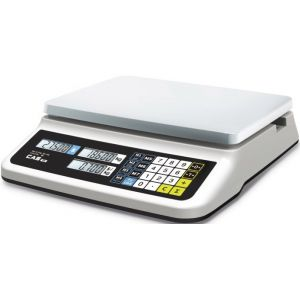 Весы электронные торговые, настольные, ПВ 0.02-6.00кг, платформа 330х235мм, подключение комбинированное, корпус пластик, RS-232C