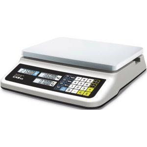 Весы электронные торговые, настольные, ПВ 0.04-15.0кг, платформа 330х235мм, подключение комбинированное, корпус пластик, RS-232C