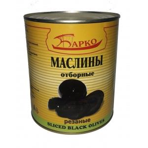 Оливки резаные отборные консервированные, ж/б 3,050кг