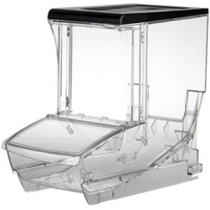 Контейнер для сыпучих продуктов, 12,5л, пластик прозрачный
