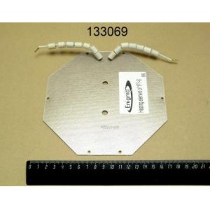 ТЭН 670Вт 220В для вафельницы 1FY-6
